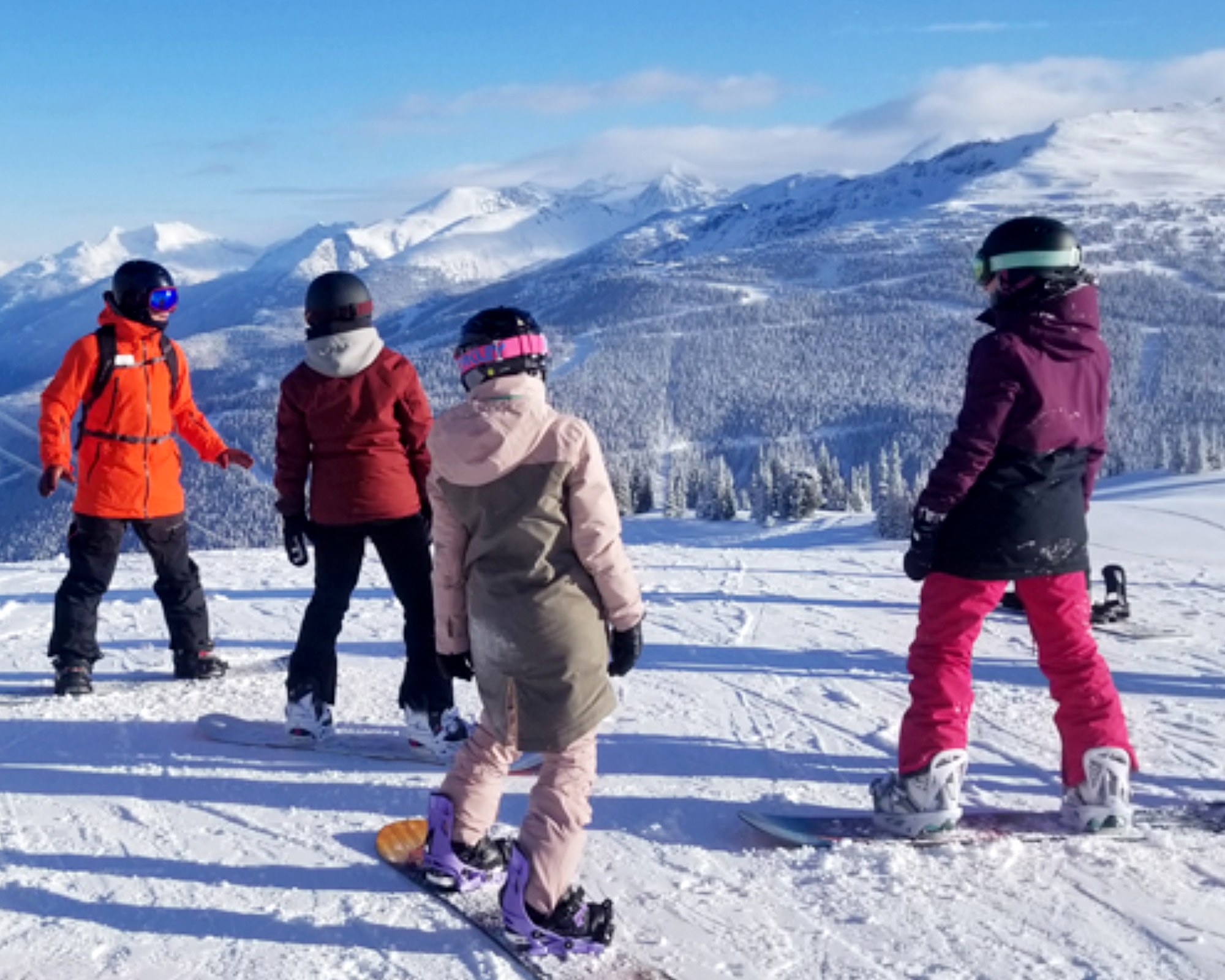 Teen Ski and Snowboard Camp in Whistler Canada