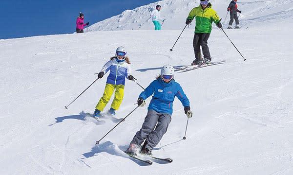Skiing Ability Level 4