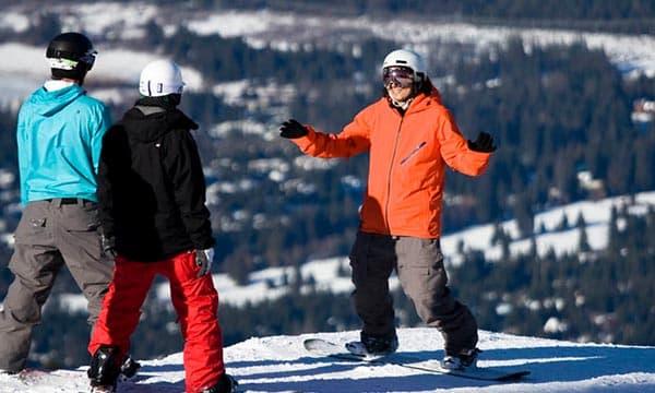 Snowboarding Ability Level 2
