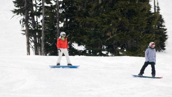 Snowboarding Ability Level 3