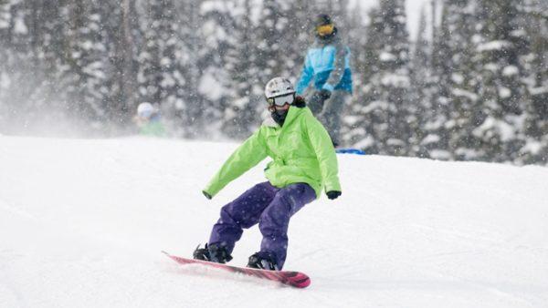 Snowboarding Ability Level 4